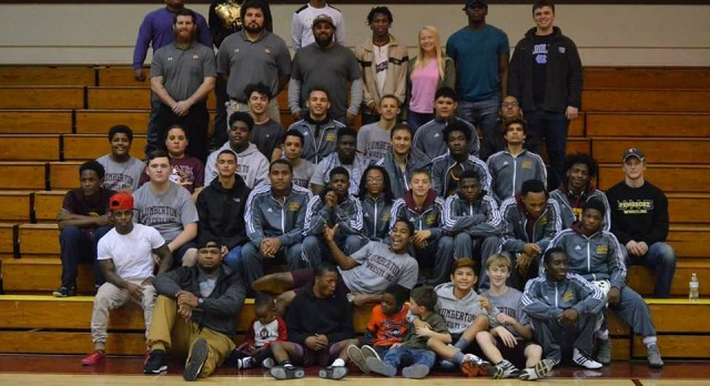 Lumberton Wrestling's First Annual Alumni and Youth Night was a Great Success