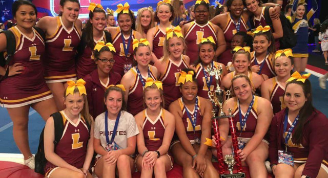 Pirate Cheer Takes 2nd Place at International Competition