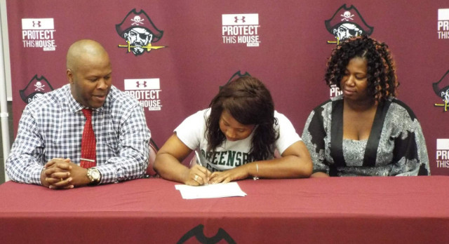 3rd Lady Pirate Basketball Player Signs Letter of Intent