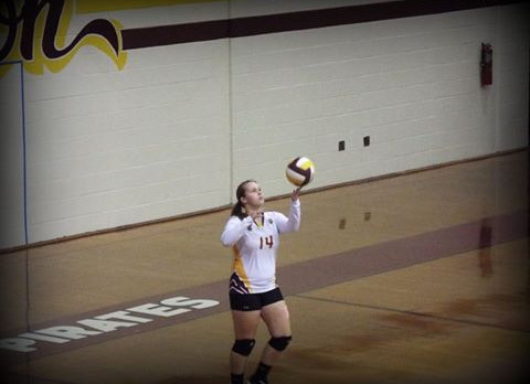 Pirate Volleyball Tryouts August 2nd at 5:30
