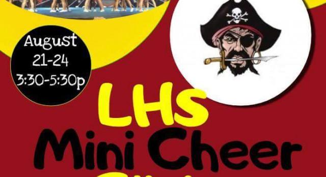 Pirate Mini Cheer Camp August 21st-24th