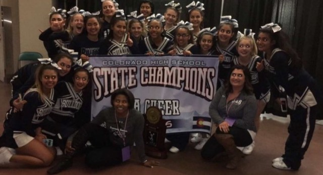 Cheer 3A State Champions