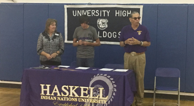 Uriah Little Owl Signs Letter of Intent