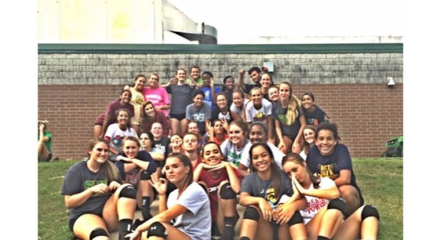 Volleyball Opens Up at Carolina Forest Preseason Tournament