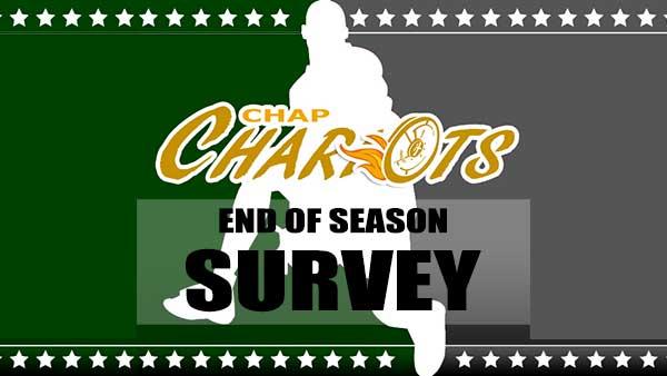 End of Season Survey…