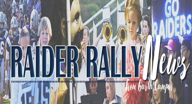 Raider Rally News now online