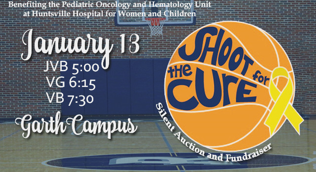Jan 12 BLUE OUT & Jan 13 Shoot for the Cure