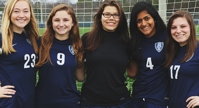 VG Soccer wrap up their season on Senior Night