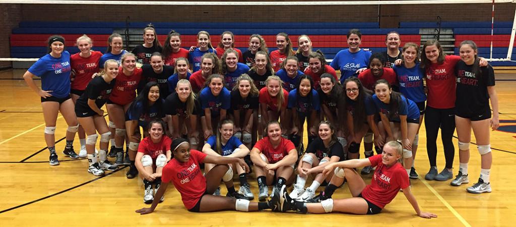 La Salle Prep Falcon Volleyball 2017
