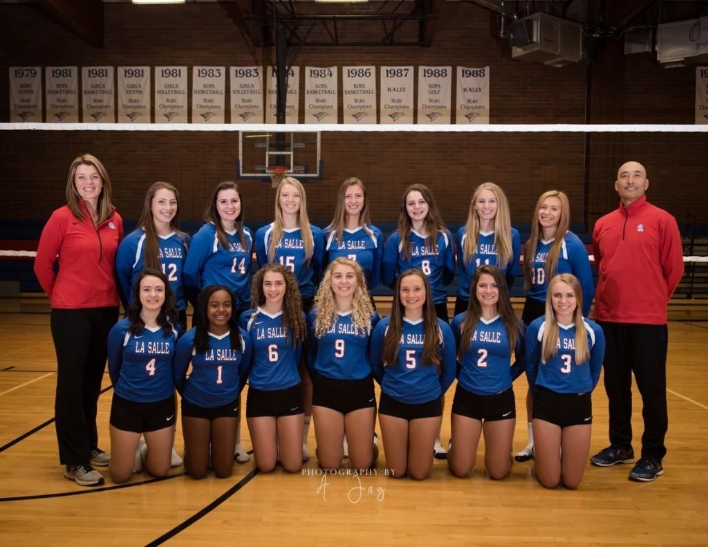 La Salle Varsity volleyball