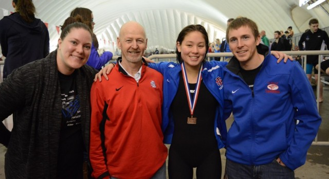Swim Team Competes at State