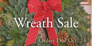Wreath Sale Picture