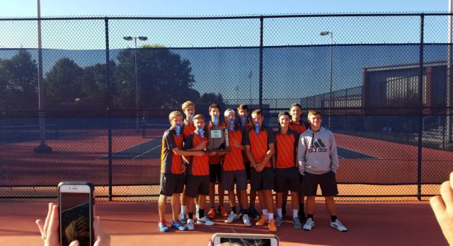 Boys Tennis: Dragons Continue Sectional Streak