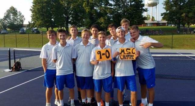 Boys Tennis: Dragons Claim 3rd Straight MSC Title