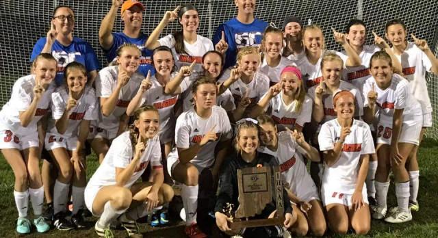 Girls Soccer: Lady Dragons Claim Back-2-Back Sectional Titles