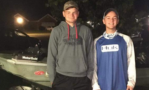 Dragons 1st Fishing Team Competes Over Fall Break