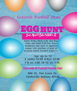 Easter Egg Flyer