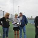 LHS Senior Night Varsity Tennis May 2016