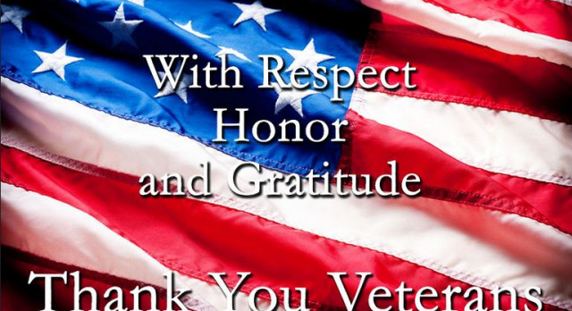 Honor our Veterans