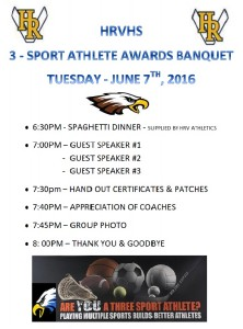 2016 3 sport athlete banquet