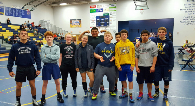 Wreagles Wrestle Well at HS Freestyle & Greco State Championships