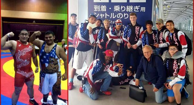 HRV's Ramirez wrestles in Japan