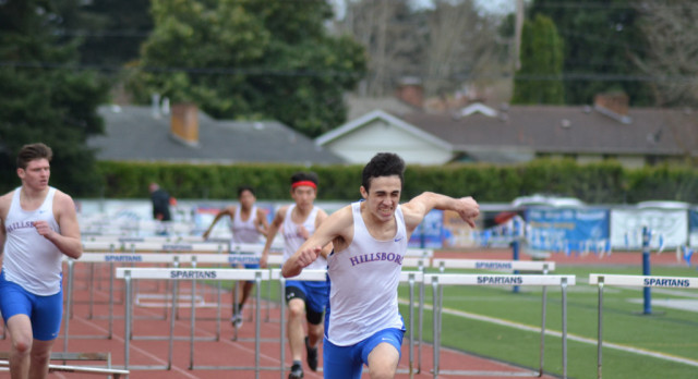 Track & Field Dominates in First League Meet