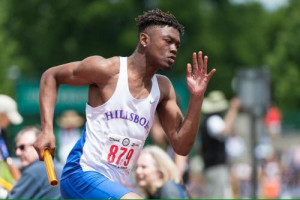 Daekwon Mitchell won 3 medals at the 2017 State Meet