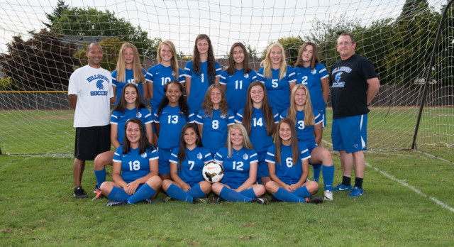 2017 Varsity Girls Soccer Team