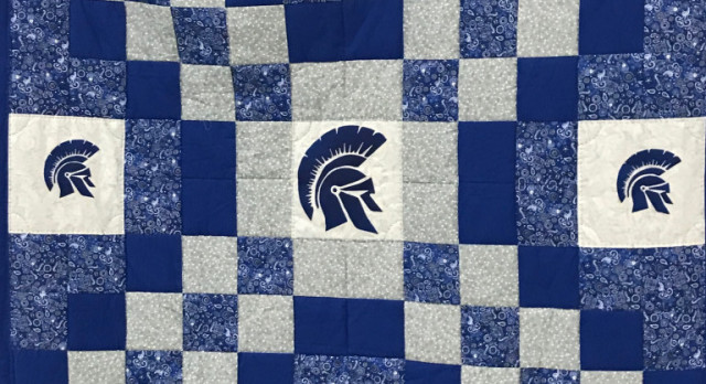 2nd Spartan Quilt Raffle before the Holidays