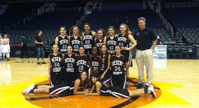 Lady Jags Take Down Campo in Suns Arena