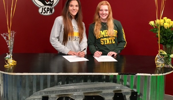 Bennett and Lawson Ink Soccer Scholarships!