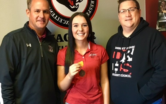 Beyer gets 8th in State Golf