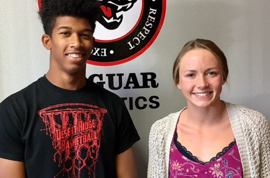 Logan & Wolfe Student-Athletes of the Year!