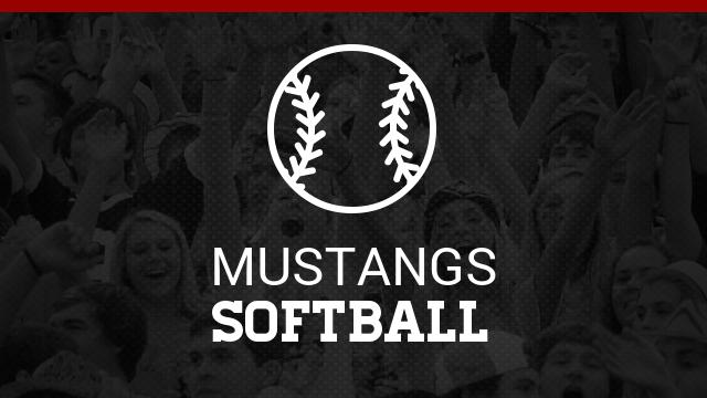 Lady Mustangs Softball  at Battle for the Rock March 31 & April 1