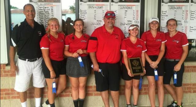 Lady Mustangs win WIC Golf Championship