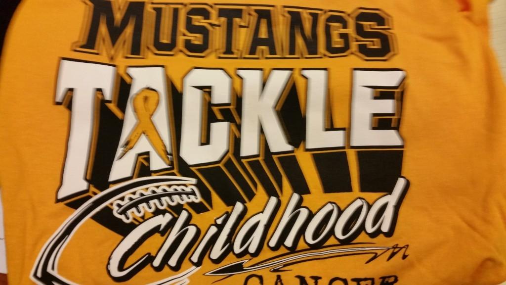 Mustangs Tackling Cancer T-Shirt (1)