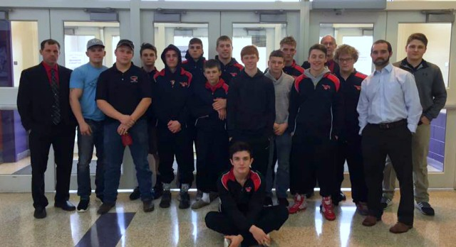 Edgewood Wrestling sends a record 10 to Semi-State on Feb 11