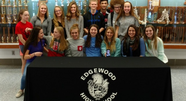 Celine Hornick Signs Letter of Intent to St. Mary of the Woods College