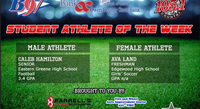 Freshman Ava Land B97/Hoosier County 105 Student Athlete of the Week