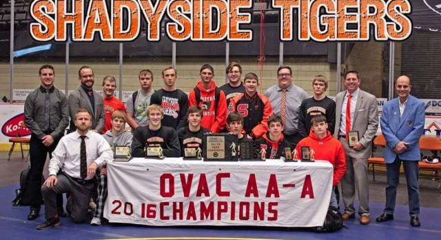Tigers Win 1A/2A Title At OVAC Mat Tourney