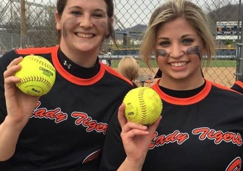 Congratulations to senior, Lindsey Dunn and junior, Karly Klug on hitting their first homeruns of the year at Magnolia. March 30, 2016