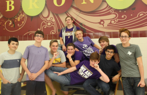 Denton Boys Swim Team 2016