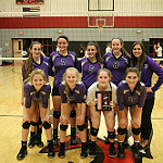 2017 Denton High Volleyball Tryout