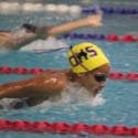 Delia Breedlove, Denton High School swimmer