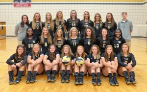 MJHS Varsity Volleyball 2016-2017
