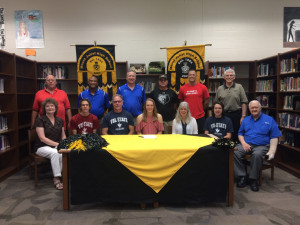 Congratulations to Stephanie Phelps for signing with Volunteer State Community College!