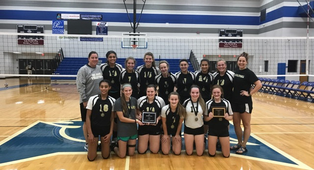 MJ Volleyball JV District Champs