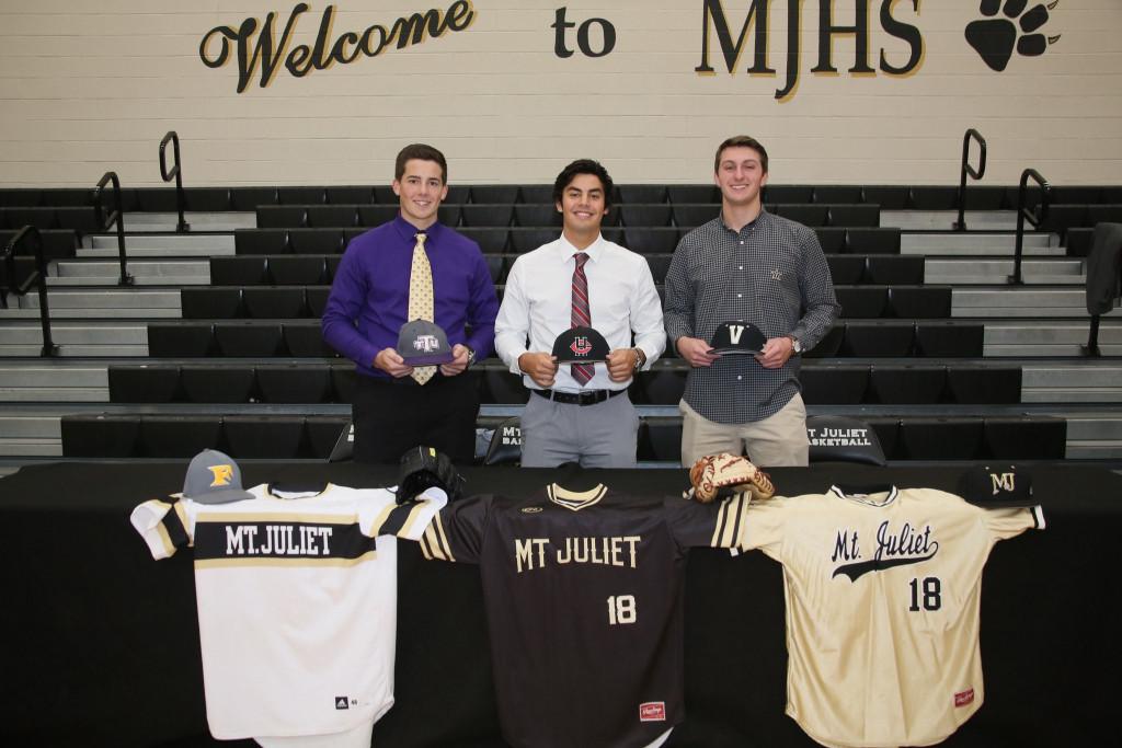 Baseball Signees Class of 2018