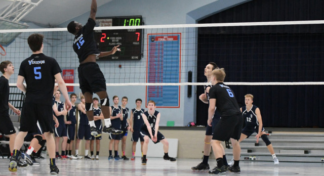 VASJ BOYS VOLLEYBALL – Led by Brown, Vikings continue to grow as a program